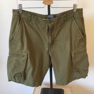 Nike Brown Cargo Shorts Size 34